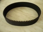 toothed flat belt, drive belt, toothed belt, v-belt for zippo lift Type 1501 (width 40mm)