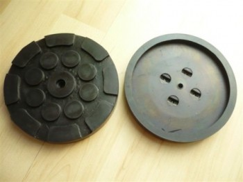lift pad, rubber pad, rubber plate for Hofmann Duolift Type GT 2.5 / GTE 2500 / MTF 3000 / STE 2500 (120mmx16mm)