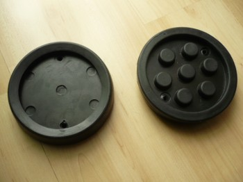 lift pad, rubber pad, rubber plate for Slift lift (130mm x 28mm)