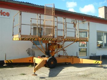 13 m VEB work platform lift type FHB 12.1