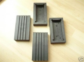 lift pad, rubber pad, rubber plate for Romeico lift type Atlantic / Nordmeer / Sahara (150x80x28mm)