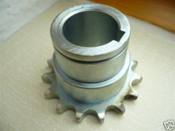 chain sprocket wheel, 15 teeth with hub for IME, REMO, Slift-Classic, Longus, AFV-Sopron lift