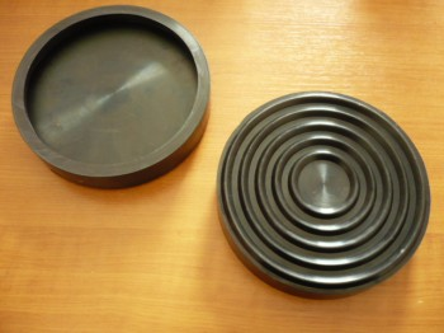 lift pad, rubber pad, rubber plate for Blitz lifting platform (155 mm x 28mm)