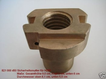 safety nut for Koni lift type KN2 M20 3532/T719