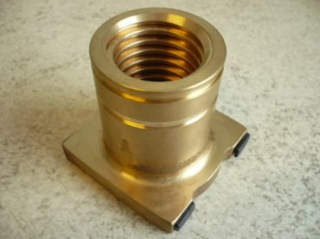 Lift nut (new design with two grooves) for Consul lift H 049 to H 400 from year 1983
