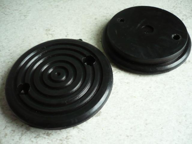 lift pad, rubber pad for JAB Becker lift (115mm x 20mm)