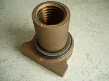 original safety nut MWH Consul 2 post lift 5 tons (2 motors) Type 2.50 H 143 H 143 S or 1 post lift Type 1.20 H146 (2 tons), 1.25 H146 (2.5 tons)