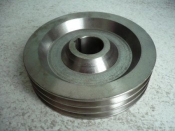 v-belt pulley, toothed pulley, belt disc for Nussbaum lift Type ATL 2.25 (lifts with one spinde to 2.5 tons capacity)