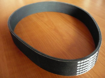 ribbed v-belt, drive belt, toothed flat belt for Slift lift type CO 2.30 / 3 tons Capacity