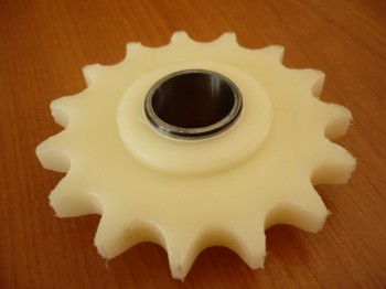 chain sprocket wheel for Zippo lift Type 1211 1111 (Plastic with socket)