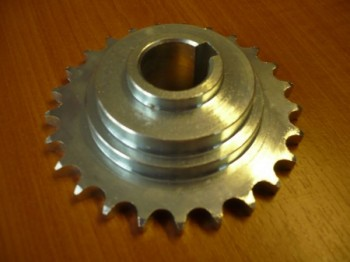 1/2 inch chain sprocket wheel, drive wheel for Romeico H224 / FOG 449 lift (Sprocket with key)