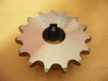 chain sprocket wheel, drive wheel for Romaico H225 H226 H227 H230 H231 H232 lifts (with feather key)