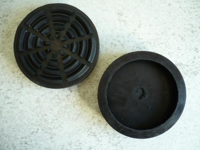 lift pad, rubber pad, rubber plate for Koni lifting platform (105mm x 26mm)