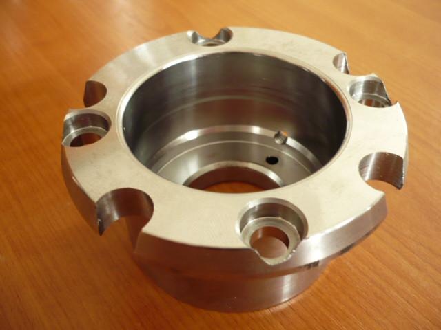 bearing housing, bearing case for radial bearing (upper spindle bearing) Nussbaum lift Type SLE 2.25 2.30 2.32 2.40 (2 spindle)