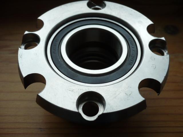 bearing housing, bearing case with radial bearing (upper spindle bearing) Nussbaum lift Type SLE 2.25 2.30 2.32 2.40 (2 spindle)