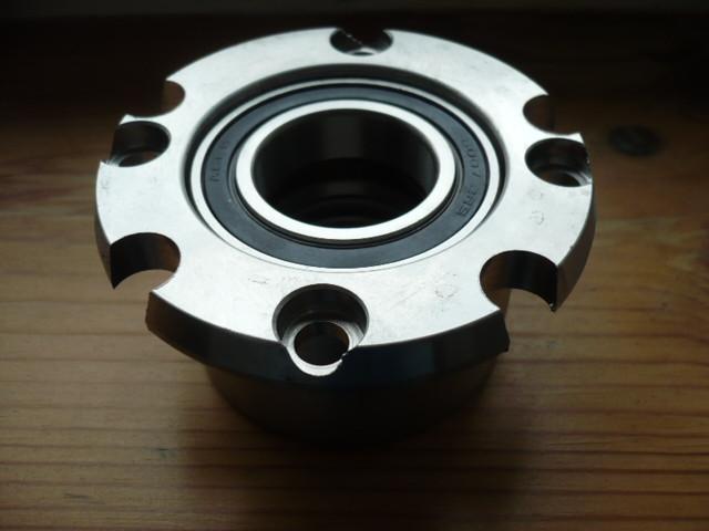 bearing housing, bearing case with radial bearing (upper spindle bearing) Nussbaum lift Type SL 2.25 2.30 2.32 2.40 (2 spindle) & ATL ATS