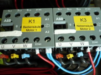 opener ABB contactor, air contactor, relay for MWH Consul lift Type H-models