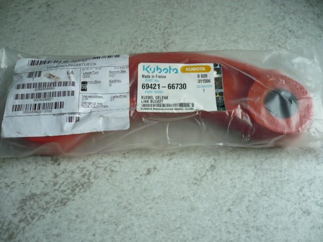Left connector Kubota KX41 mini excavator 69421-66730 6972866730