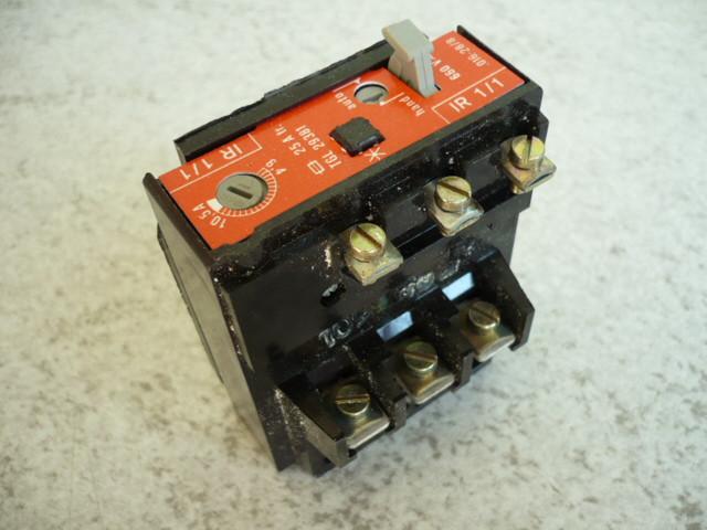 Bimetallic motor circuit breaker thermal relay overload relay IR 1/1 6,4-10,5A