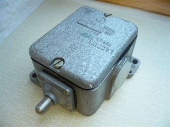 Fael limit switch Lacznik Krancowy LK 10/E for VEB DDR Takraf work platform