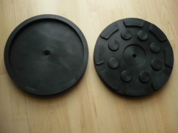 lift pad, rubber pad, rubber plate for Hofmann Duolift Type GTE 2500 GT 2500 BT 2500 BTE 2500 (140mm x 17mm)