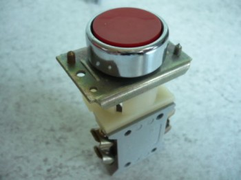 pushbutton for controlbox VEB DDR work platform Lengenfeld FH 1600/1