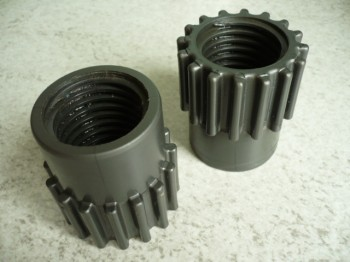 lifting nut or safety nut for Nordlift / Fintools 1 post lift Type DH, DHM, DR / TR Ø40x5, right-hand thread