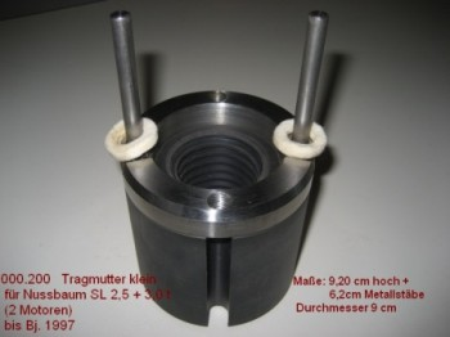 lifting nut for Nussbaum lift Type SLE 2.25 SLE 2.30 SLE 2.32 and SL (TR 45x6)