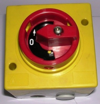 up/down switch, reversing switch, control switch for Nussbaum lift Type SPL
