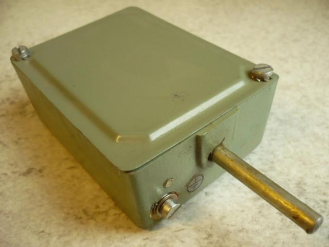 EMT Limit switch Switching contact Contact system VEB Elektromechanik Zittau DDR TK2