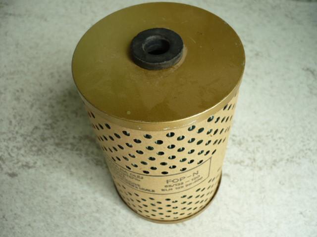 Filtrak filter element diesel filter fuel filter prefilter FOP-N 85/133-120