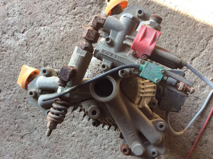 WAP CS 830 motor pump gear for hot water high pressure cleaner steam cleaner