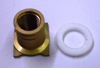 original safety nut + distance disc for Zippo Lift type 2030 2130 2135 2140 2040 (new version from year 2005)