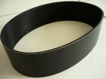 ribbed v-belt, v-belt, drive belt, flat belt for Zippo lift Type 1750 (5 tons)