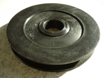 upper guide pulley for Longus Autolift Type LO-2.32 HT (QjY-2.42B) / and Herrmann lift (for Column height 3730mm)