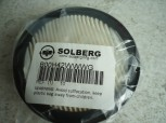 "Solberg 10 Paper Filter Element, 1-3/8"" Height, 4"" Outer Diameter"