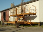 GDR VEB work platform lift lifting platform lift elevator FH 1600/1