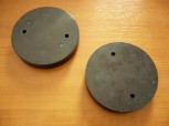lift pad, rubber pad, rubber plate for Adami lifts (104mm x 17mm)