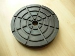 lift pad, rubber pad, rubber plate for Romeico H224 / FOG 449 lift (160mm x 27mm)