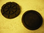 lift pad, rubber pad, rubber plate for CASCOS Lifts (138mm x 25mm)