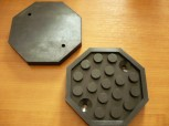 lift pad, rubber plate for Ever-Eternal lift (129mm x 15mm, reinforced version)