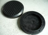 lift pad, rubber pad, rubber plate for Rotary Lifts (123mmx20mm)