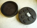 lift pad, rubber pad, rubber plate for Zippo lift 110x27mm
