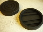 lift pad, rubber pad, rubber plate for AGM Lifts (139mm x 28mm)