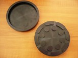 Rubber plate for receiving increasing MWH Consul lift Type H 301 (140mm x 22mm)