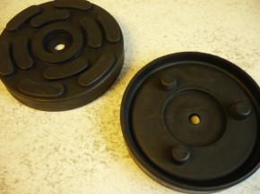 lift pad, rubber pad, rubber plate for RAV Ravaglioli Lift (140mmx26mm)