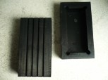 lift pad, rubber pad, rubber plate for Tecalemit lift