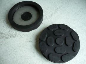 lift pad, rubber pad, rubber plate for RAV Ravaglioli Lift (100mmx21mm)