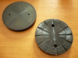 lift pad, rubber pad, rubber plate for Autec lift (150mm x 18mm, reinforced version)