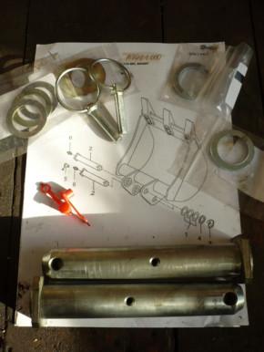 Set Pins Rings Yanmar SV17 Mini Excavator ADD01000